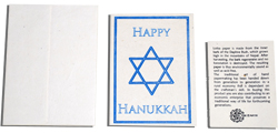 Happy Hanukkah Card 10pk