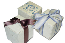 Flower Seed Favors Boxes